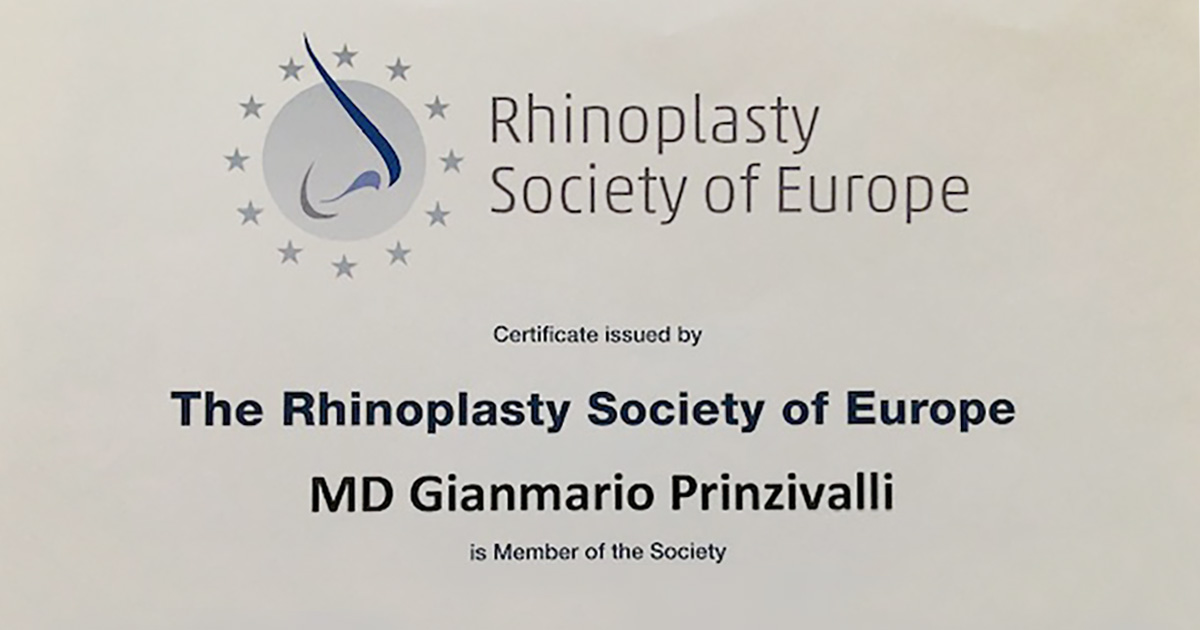 The Rhinoplasty Society of Europe